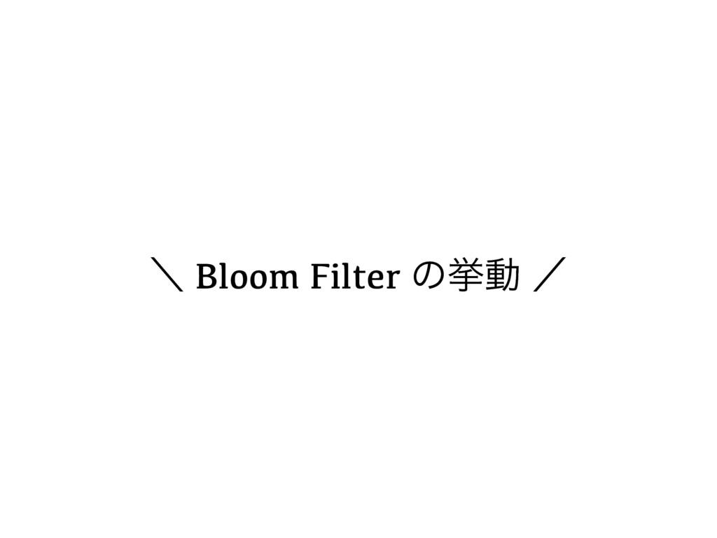 ʘ Bloom Filter ͷڍಈ ʗ