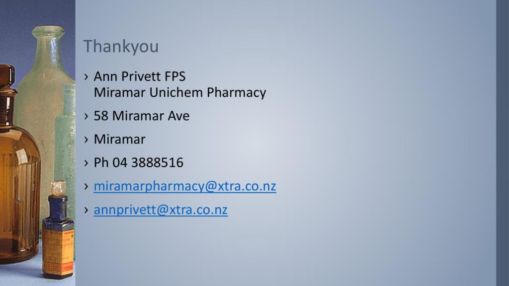 › Ann Privett FPS Miramar Unichem Pharmacy › 58...
