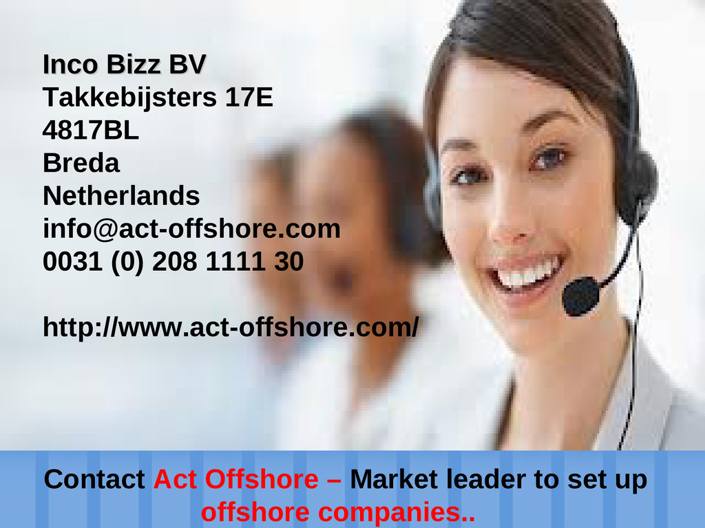 Establish an offshore company Contact Act Offsh...