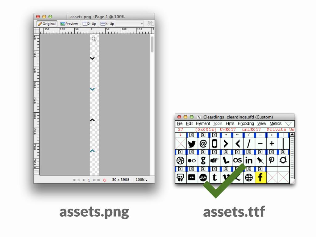 ✓ assets.png assets.ttf