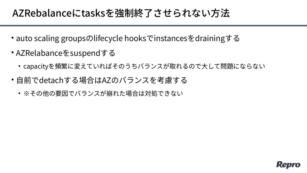 • auto scaling groupsのlifecycle hooksでinstances...
