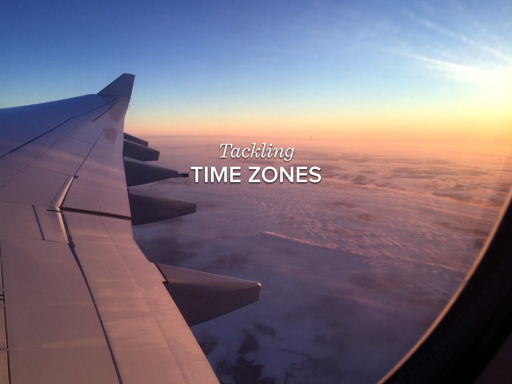 Tackling TIME ZONES
