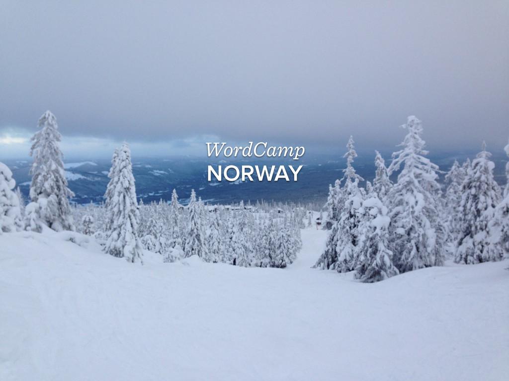 WordCamp NORWAY