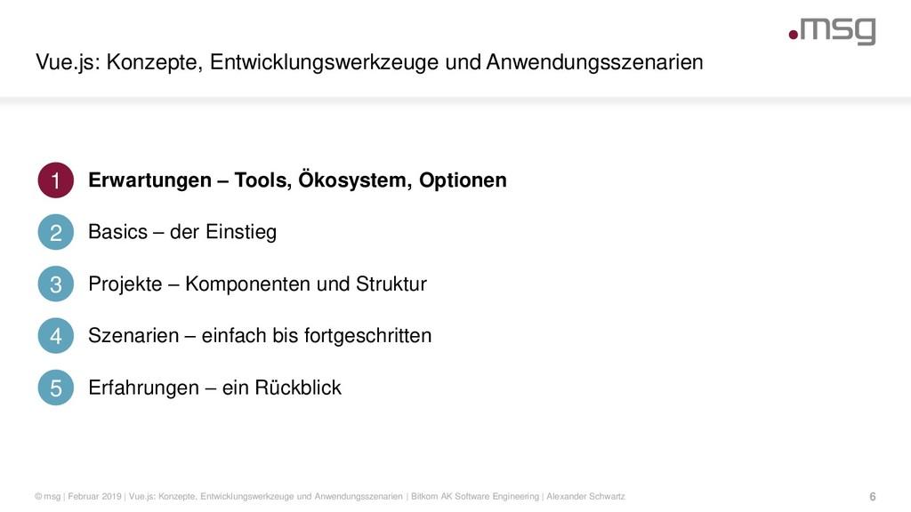 Vue.js: Konzepte, Entwicklungswerkzeuge und Anw...