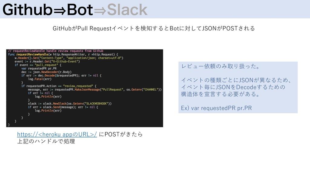 (JUIVC㱺#PU㱺4MBDL GitHubがPull Requestイベントを検知するとB...