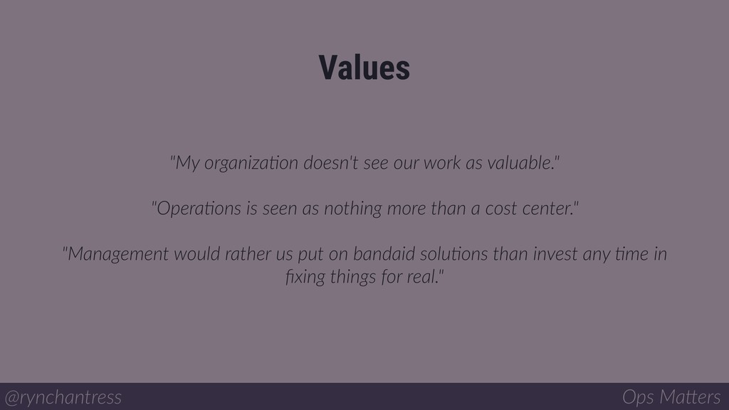 """""""My organizaIon doesn't see our work as valuabl..."""