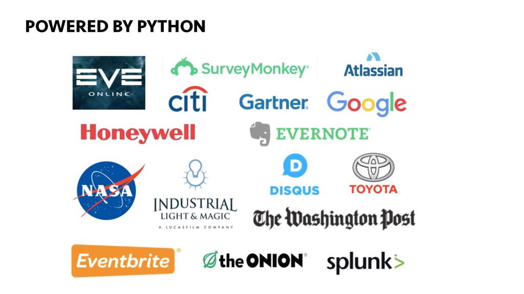 ...GET STARTED TONIGHT! POWERED BY PYTHON