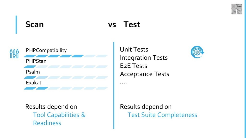 Scan vs Test Results depend on Tool Capabilitie...