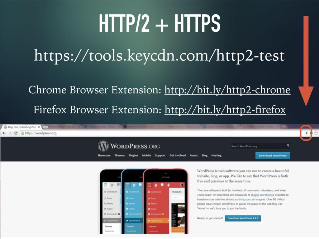 HTTP/2 + HTTPS https://tools.keycdn.com/http2-t...