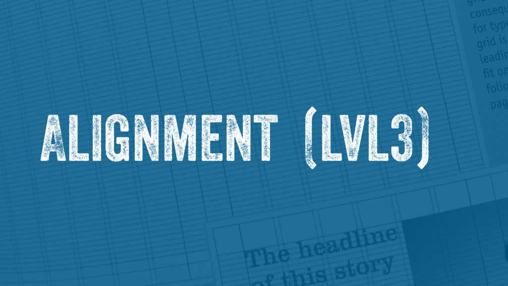 Alignment (lvl3)