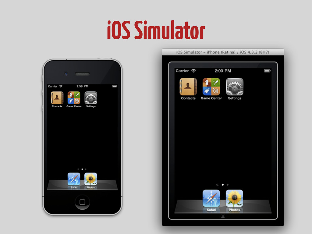 iOS Simulator
