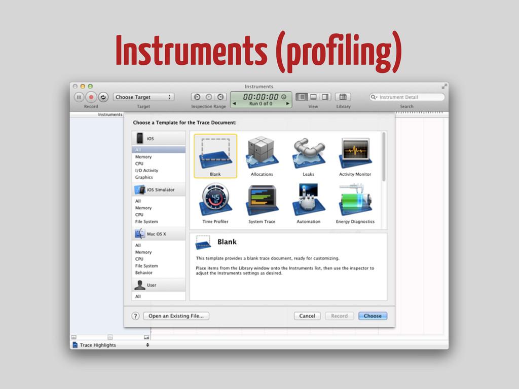 Instruments (profiling)