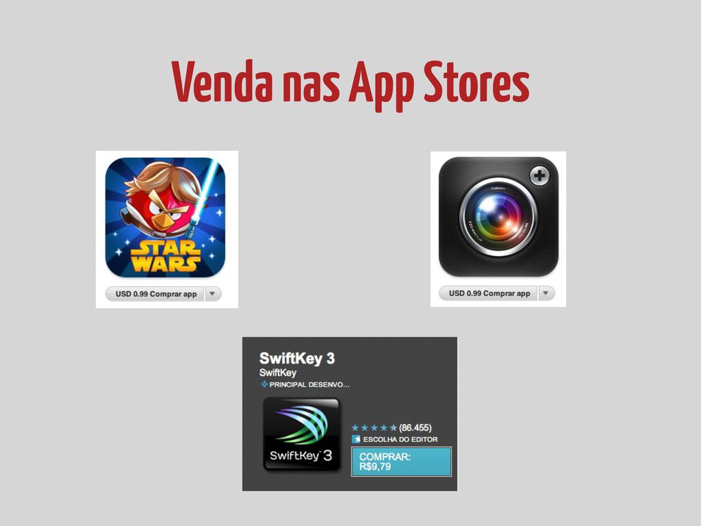 Venda nas App Stores