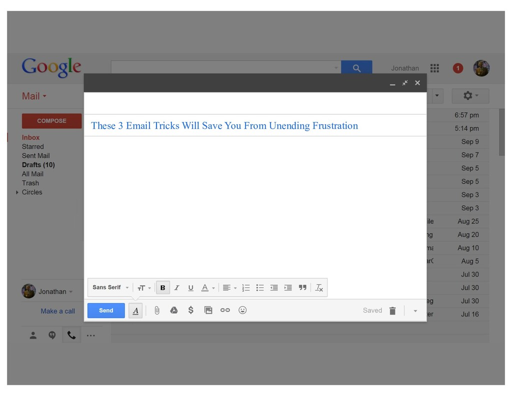 These 3 Email Tricks Will Save You From Unendin...