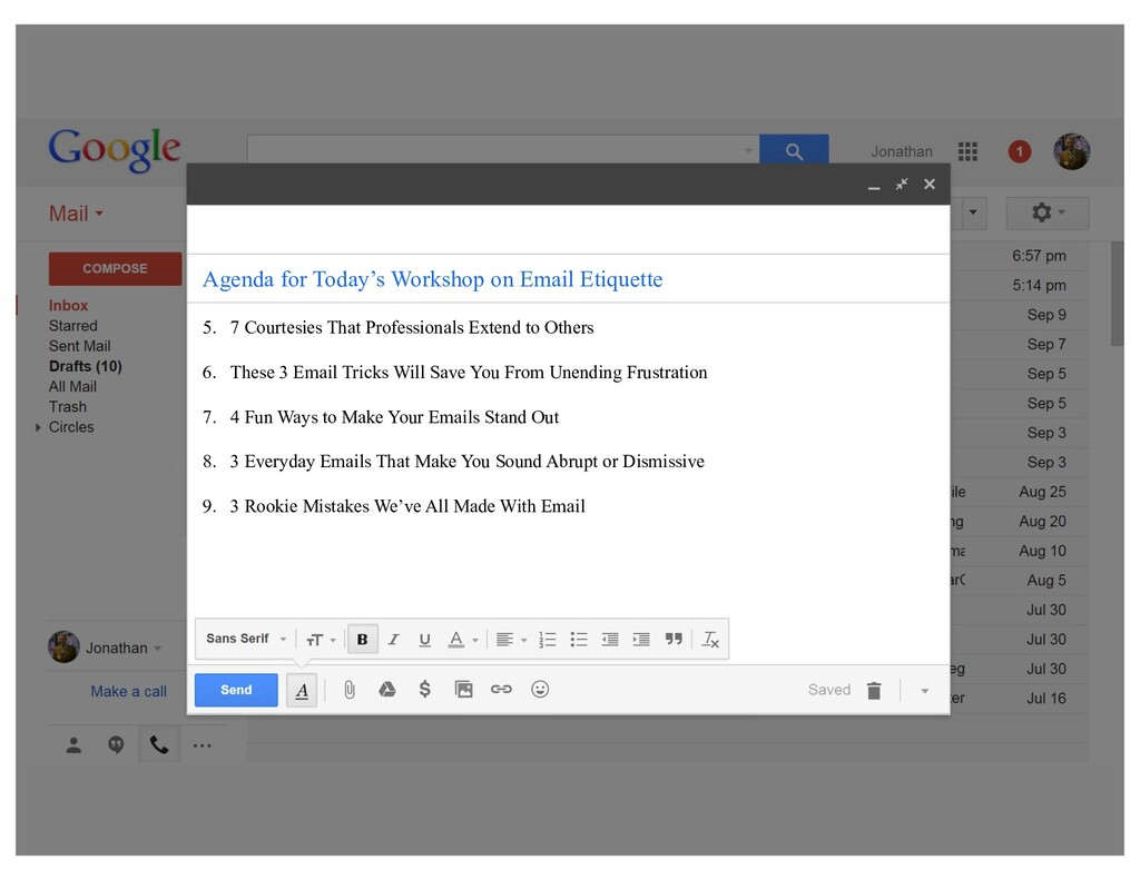 """""""Email might just be the biggest killer of time..."""