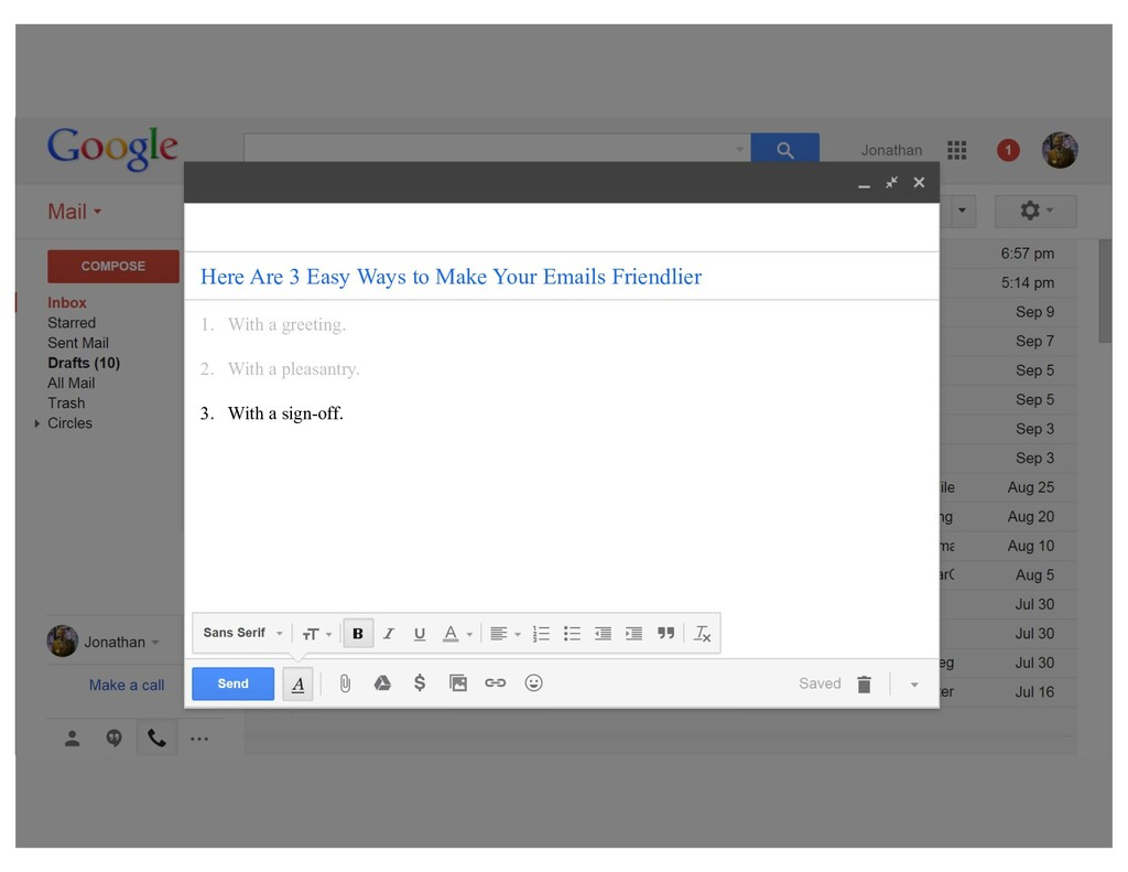 5 Techniques the Smartest Emailers Swear By 1. ...