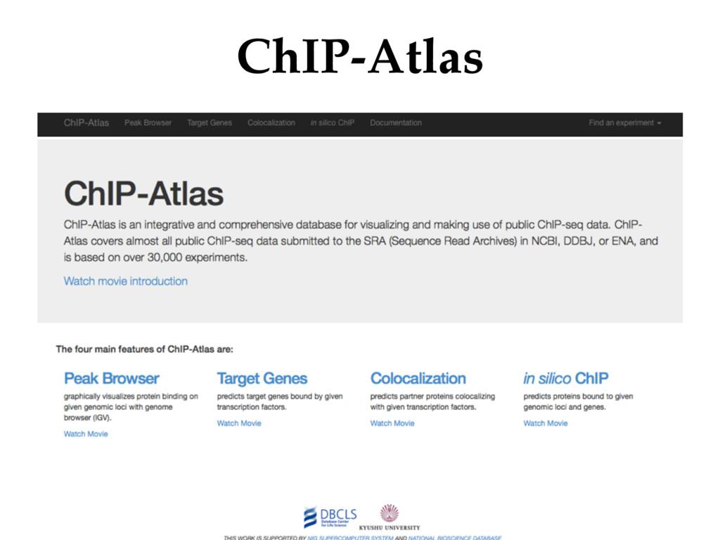 ChIP-Atlas