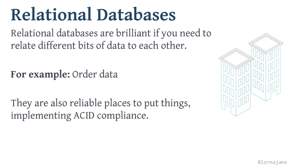 Relational Databases Relational databases are b...