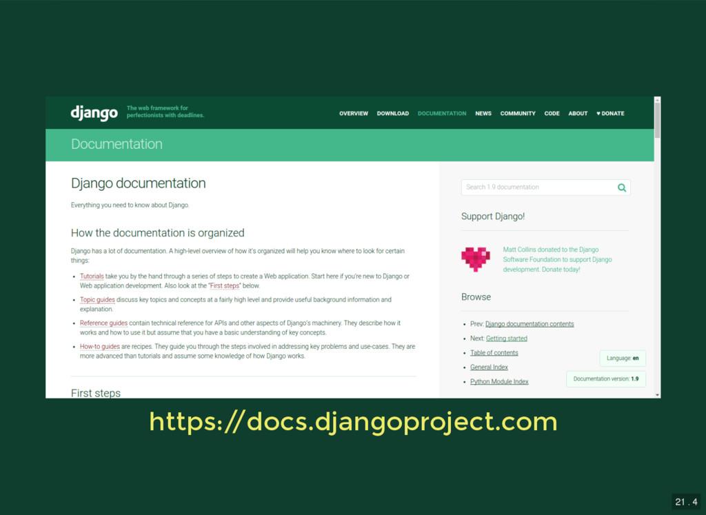 21 . 4 https:/ /docs.djangoproject.com https:/ ...