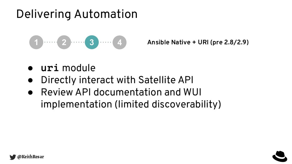Delivering Automation Ansible Native + URI (pre...