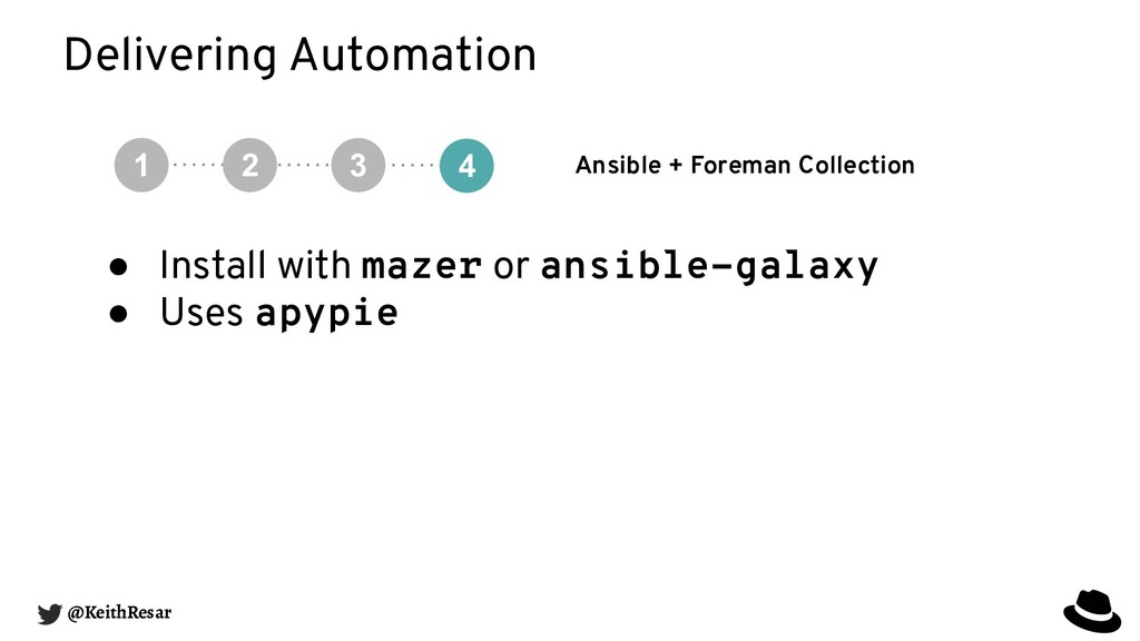 Delivering Automation Ansible + Foreman Collect...