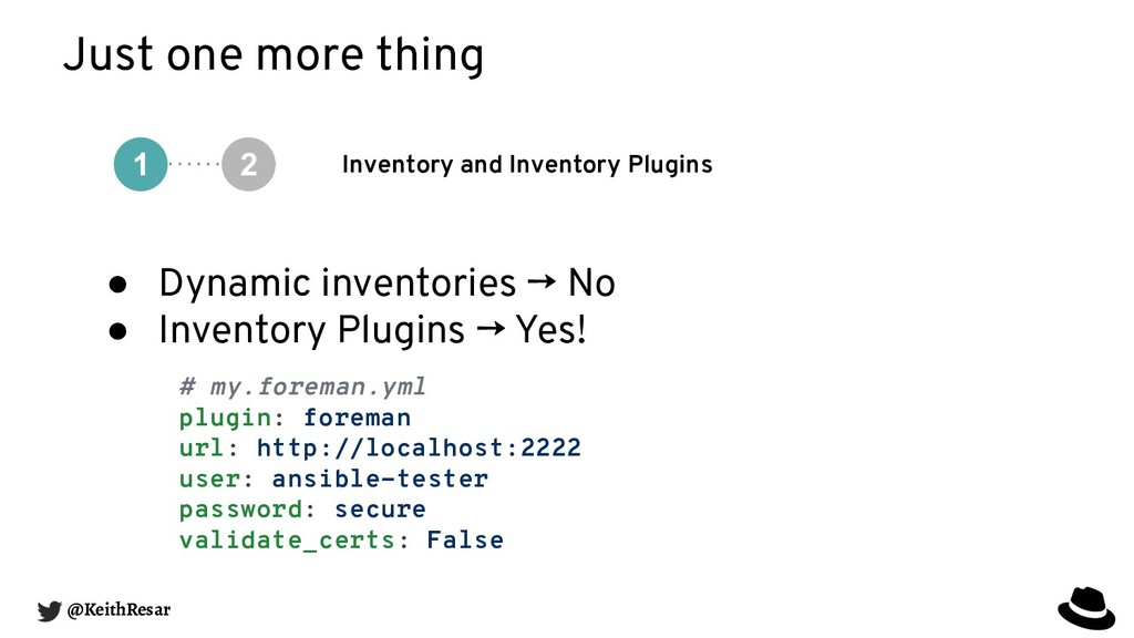 Just one more thing Inventory and Inventory Plu...