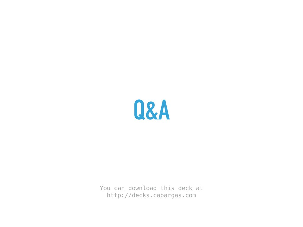Q&A You can download this deck at http://decks....