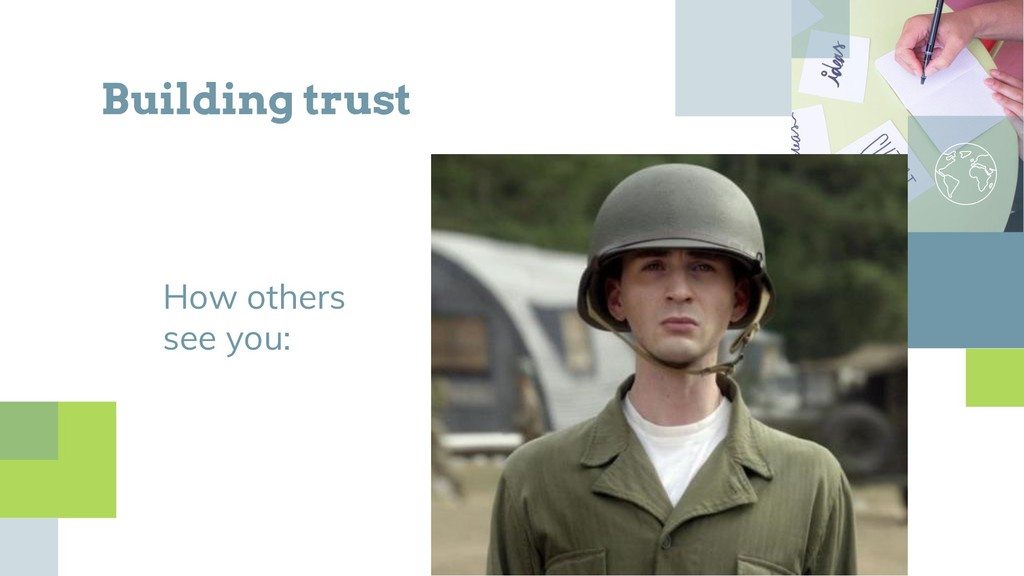 How others see you: Building trust