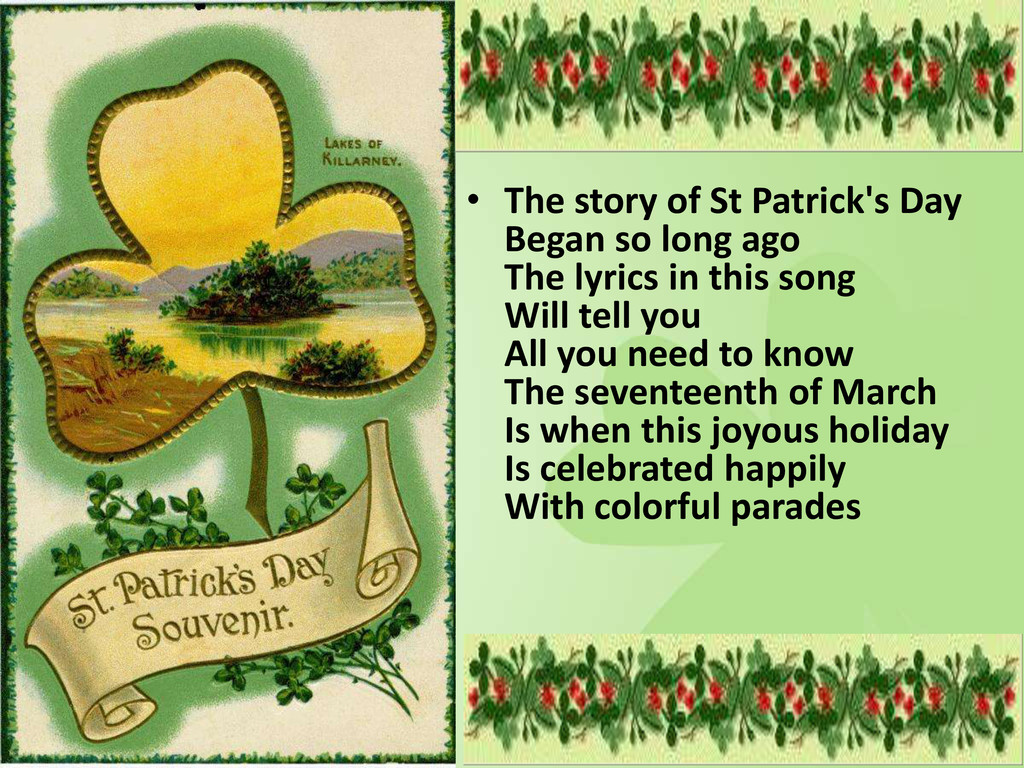 • The story of St Patrick's Day Began so long a...