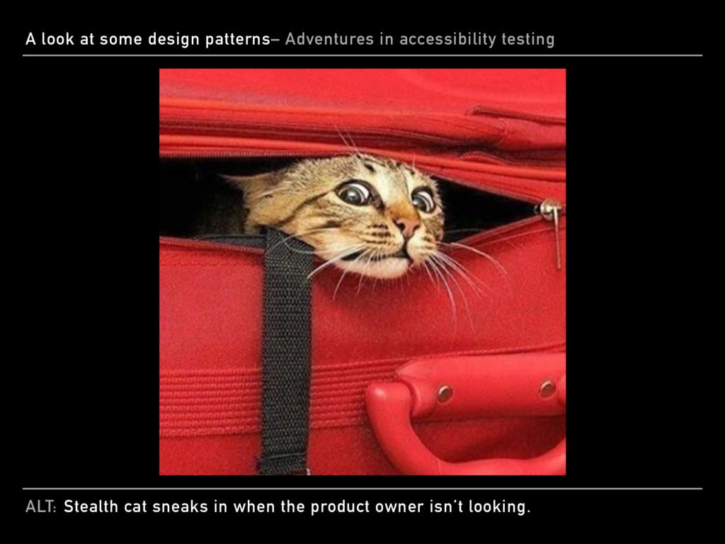 ALT: A look at some design patterns– Adventures...