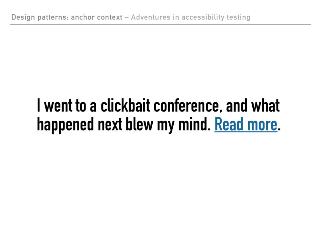 Design patterns: anchor context – Adventures in...