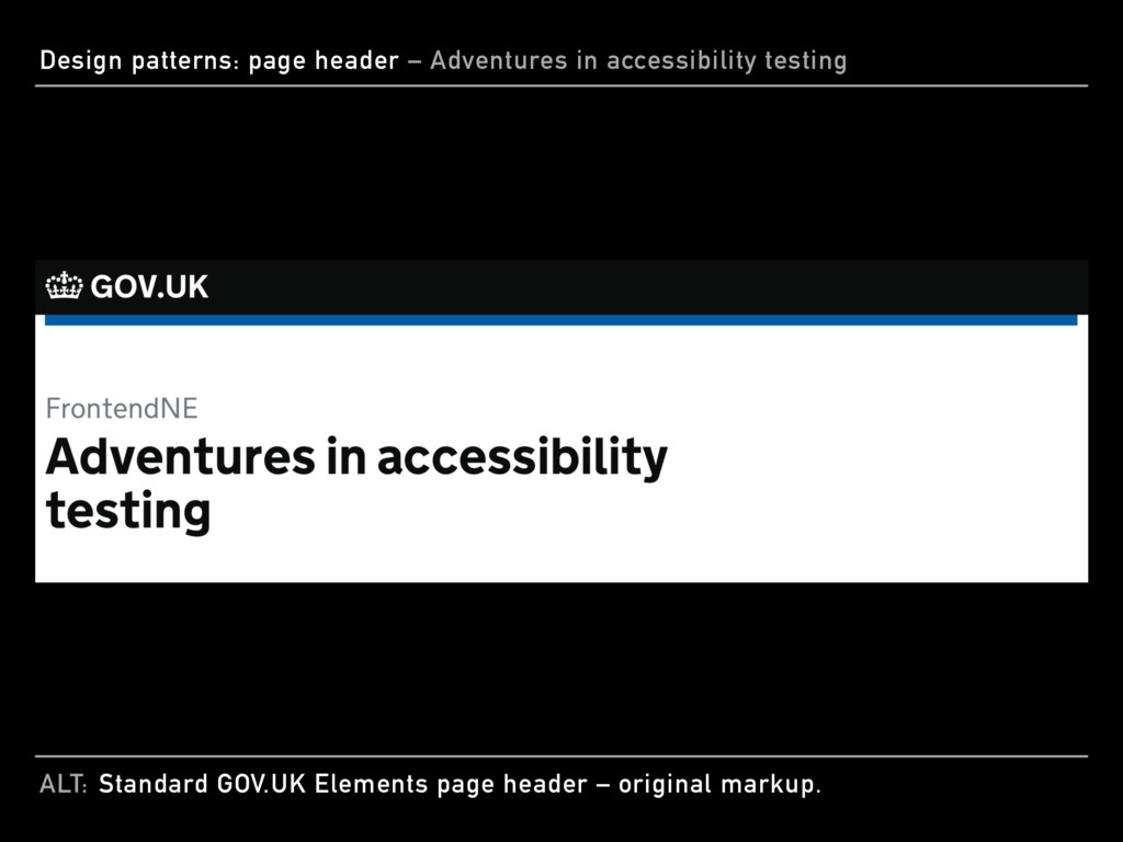 ALT: Design patterns: page header – Adventures ...