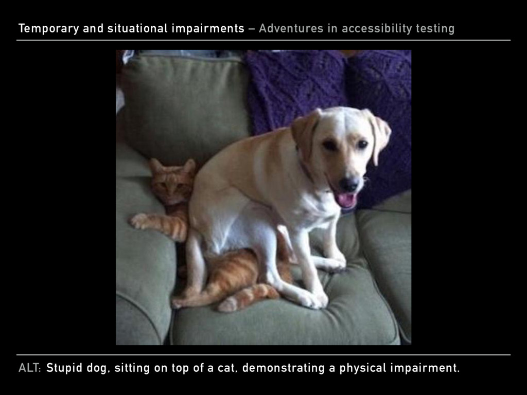 ALT: Temporary and situational impairments – Ad...