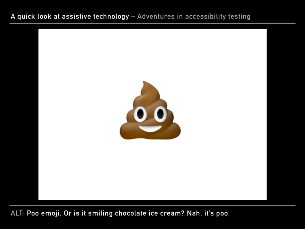 ALT: A quick look at assistive technology – Adv...