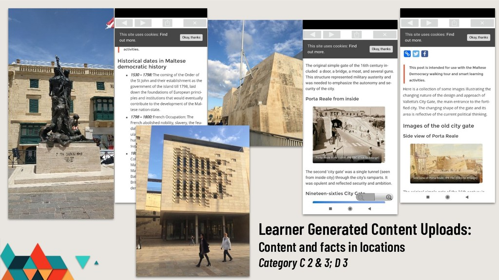 Learner Generated Content Uploads: Content and ...