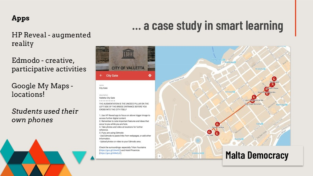 … a case study in smart learning Apps HP Reveal...