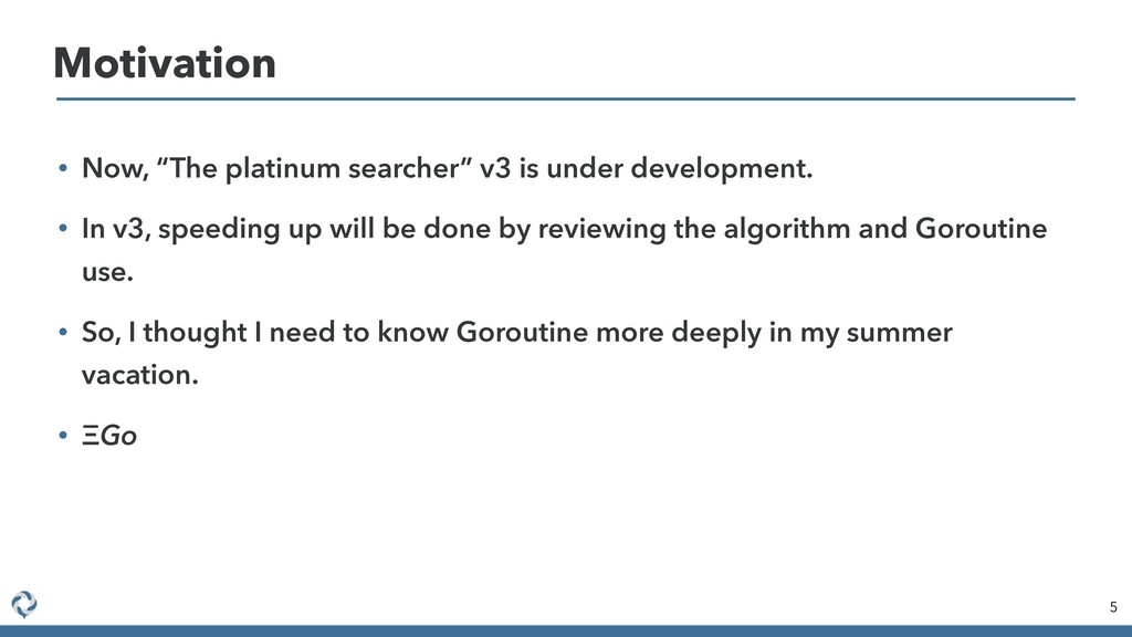 "• Now, ""The platinum searcher"" v3 is under deve..."