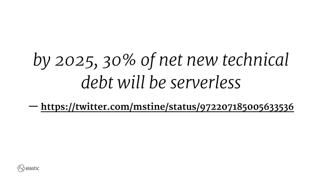 by 2025, 30% of net new technical debt will be ...