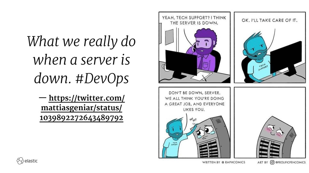 What we really do when a server is down. #DevOp...