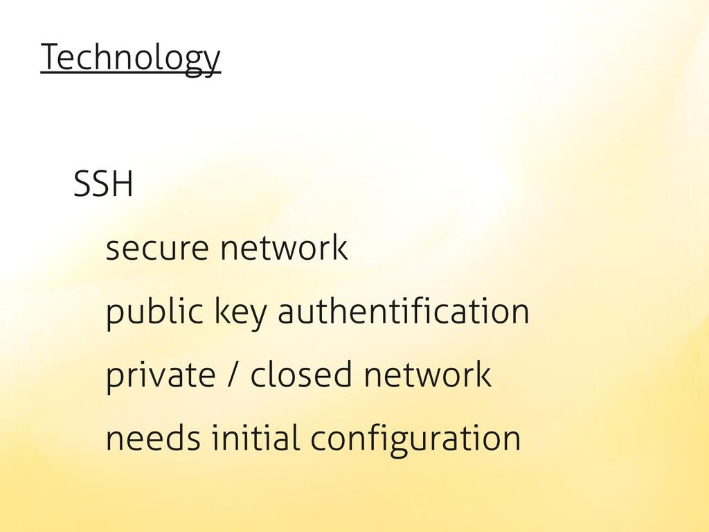 Technology SSH secure network public key authen...