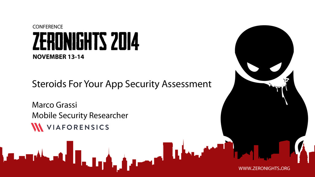 Steroids For Your App Security Assessment Marco...