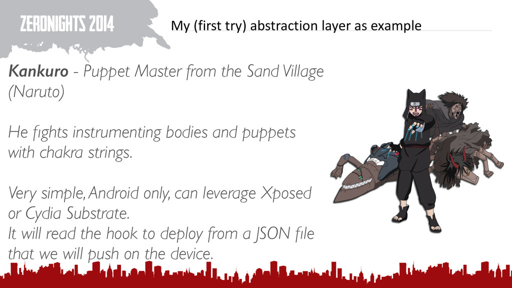 My (first try) abstraction layer ...