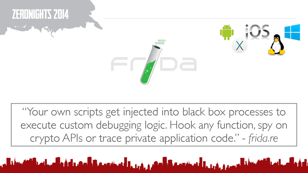 """""""Your own scripts get injected into black box p..."""