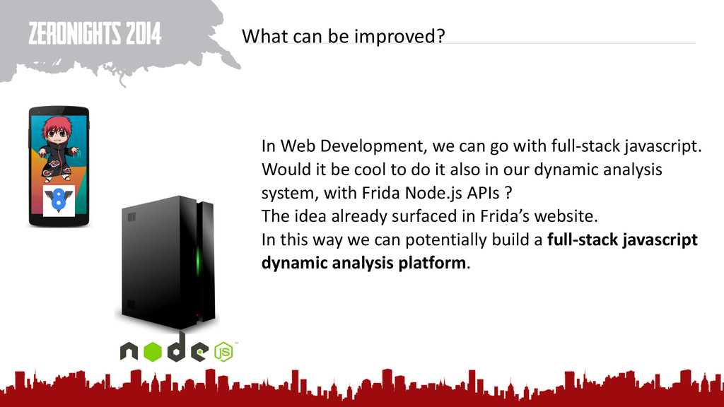 What can be improved? In Web Dev...