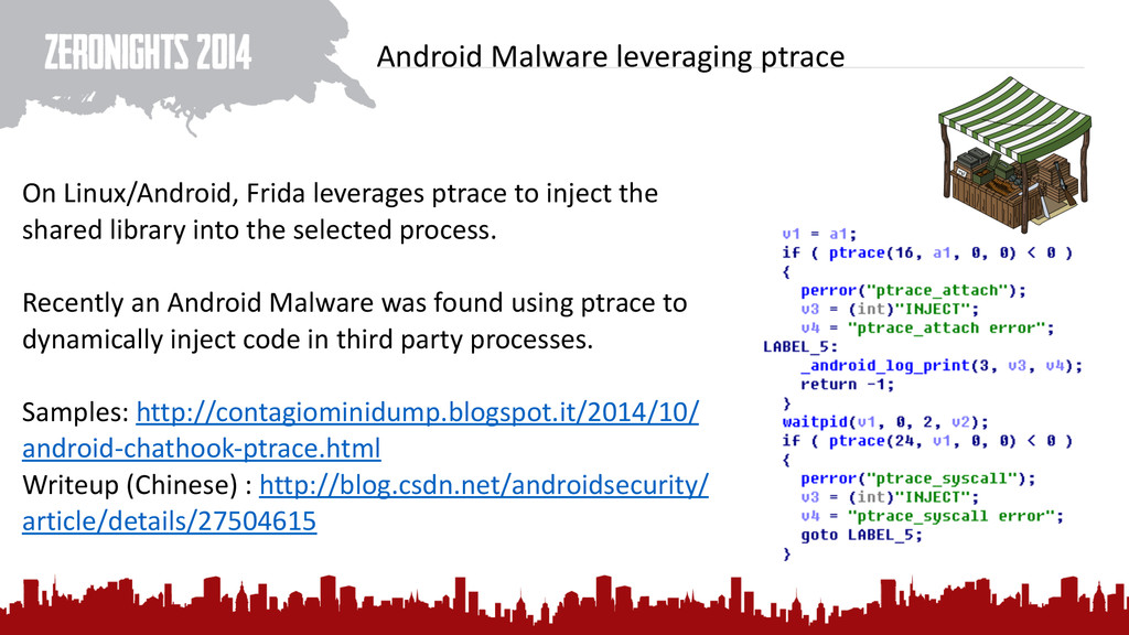 Android Malware leveraging ptrace On...