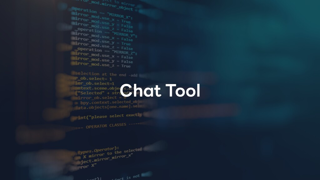 Chat Tool