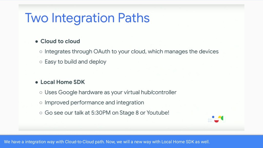 We have a integration way with Cloud-to-Cloud p...