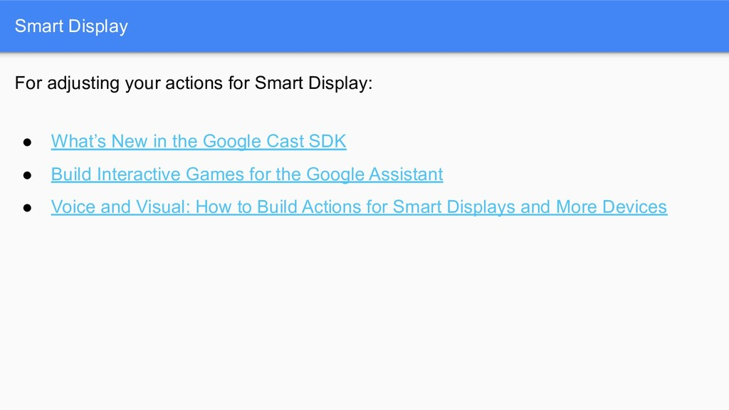 Smart Display For adjusting your actions for Sm...