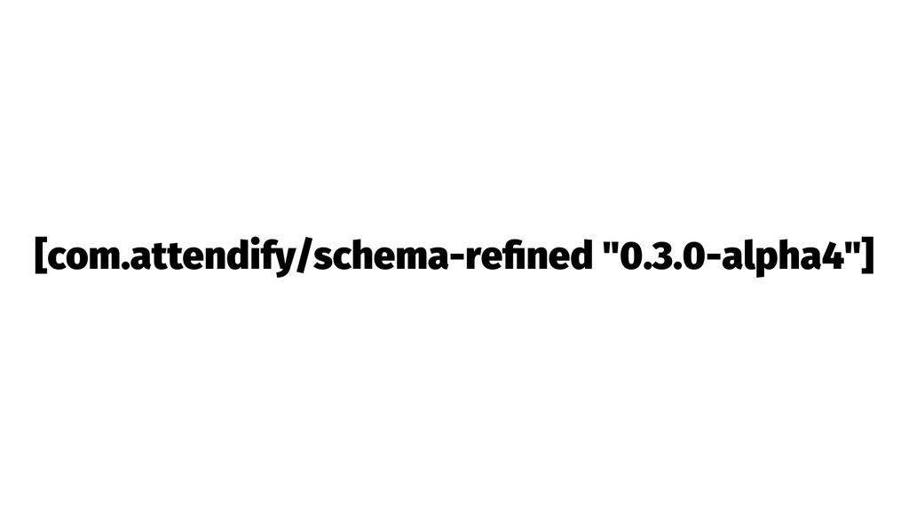 "[com.attendify/schema-refined ""0.3.0-alpha4""]"