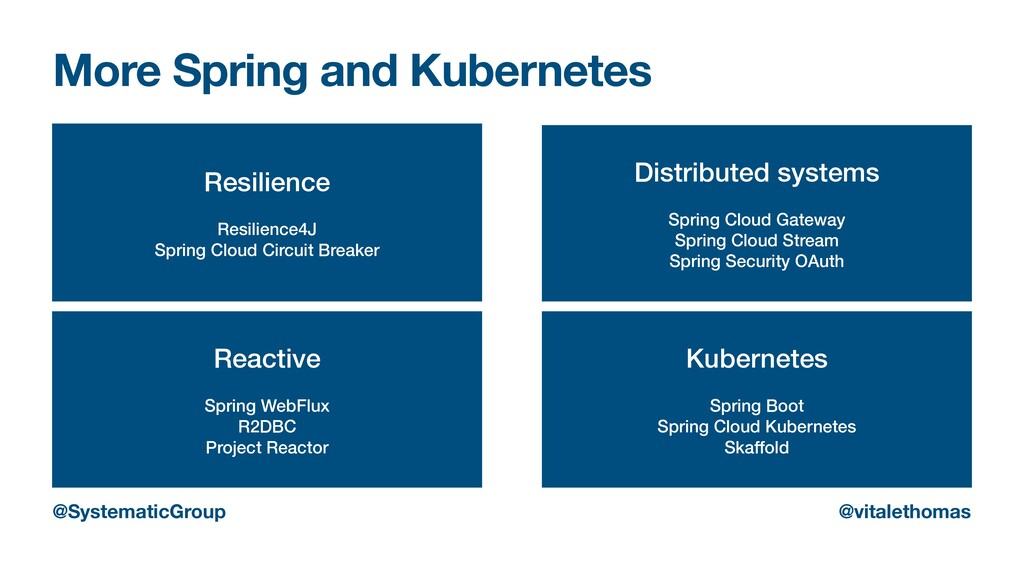 More Spring and Kubernetes Resilience   Resilie...